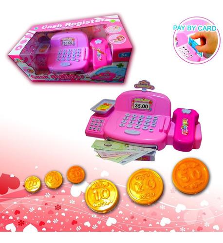 caja registradora juguete cajera supermercado niña 3+años