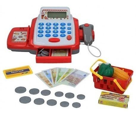 caja registradora juguete calculadora accesorios