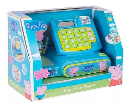 caja registradora peppa pig con accesorios luces y sonido
