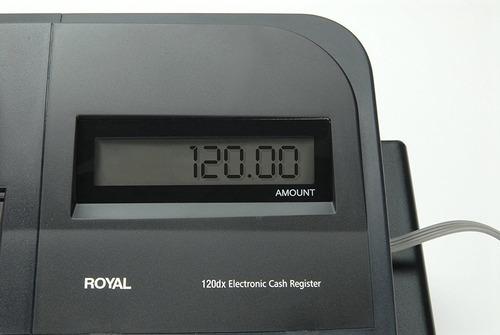 caja registradora royal consumer 52104y-fe 120dx
