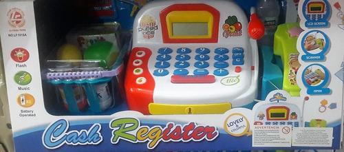 caja registradora/luces /sonido