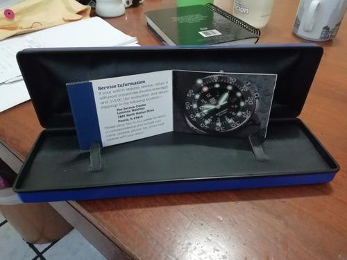 caja reloj luminox navy seals