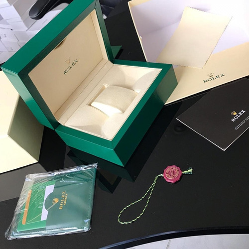 caja reloj rolex, omega suiza  garantizada tipo original