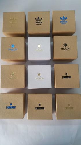 caja  relojes mulco , adidas, technosport mayor y detal