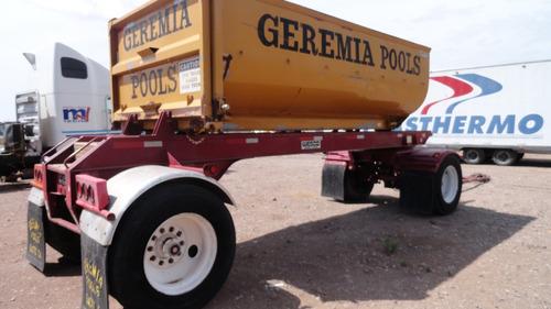 caja remolcable para camión de volteo