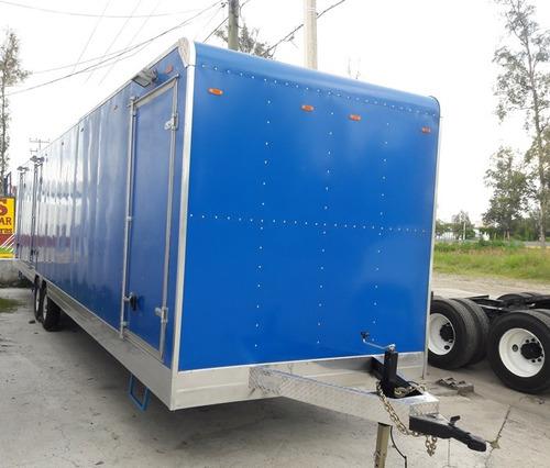 caja remolque bodega de 9 y 12 metros de largo