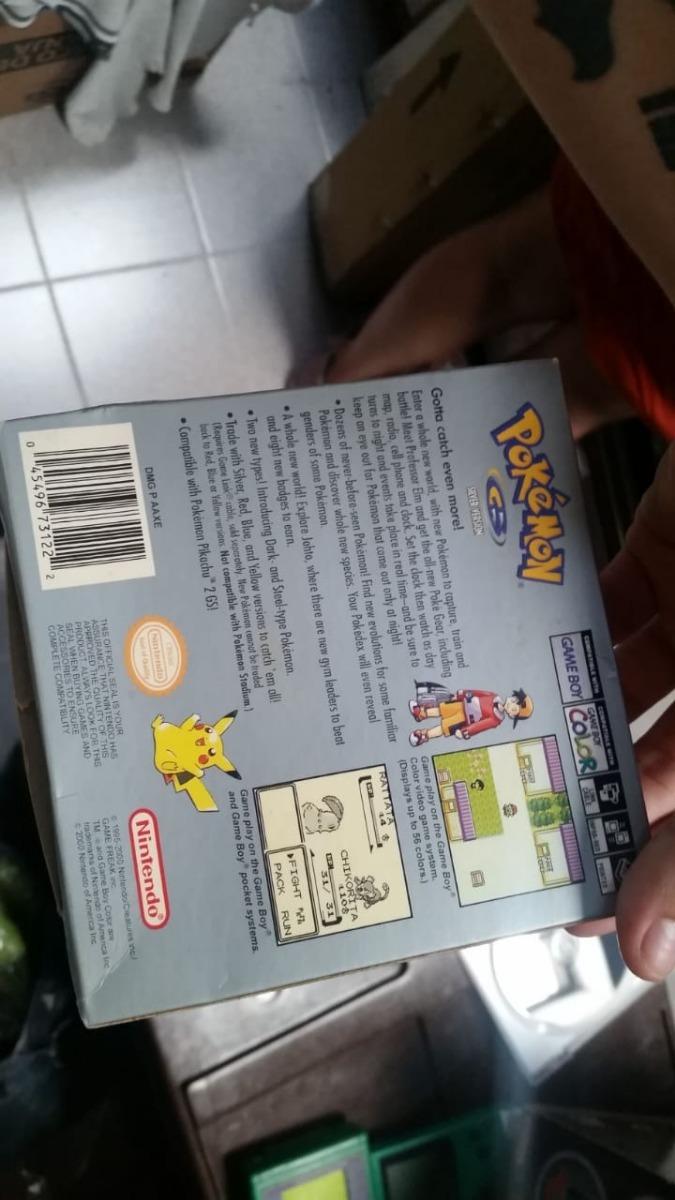 Caja Reproducción De Pokémon Silver 19500 En Mercado Libre