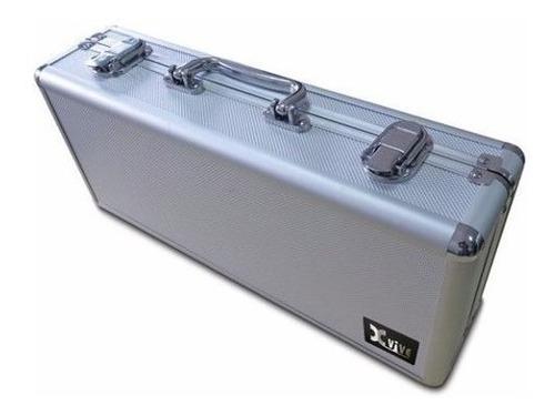 caja rígida portatil xvive para 5 pedales