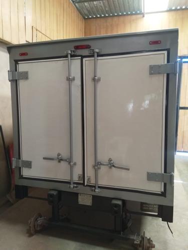 caja seca 11 pies kuzzy puertas tipo libro piso de madera