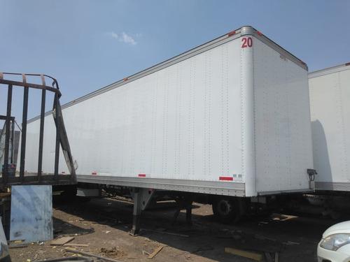 caja seca 48 ft, semirremolque