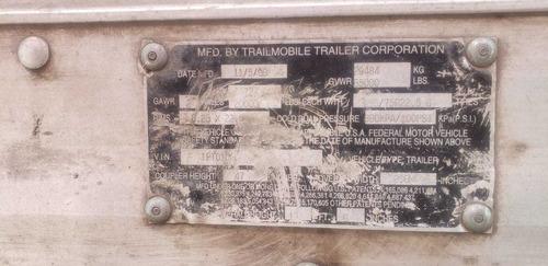 caja seca 53 pies trailmobil mod 2000
