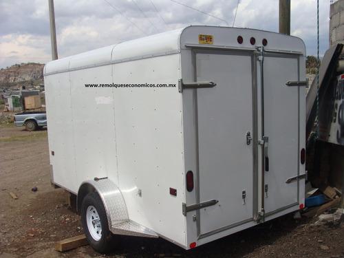 caja seca cerrada aluminio 1500 kilos un eje