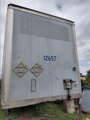 caja seca de 53 , marca; wabash, mod. 2007, suspensión aire