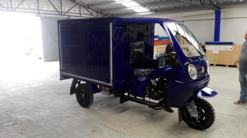 caja seca motocarro 2019 kingway, transporte perecederos