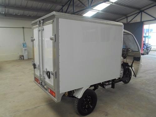 caja seca motocarro 2020 kingway, transporte perecederos