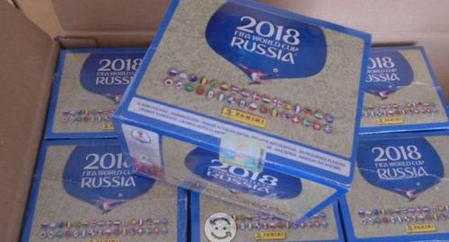 caja sellada original panini con código qr mundial 2018 fifa