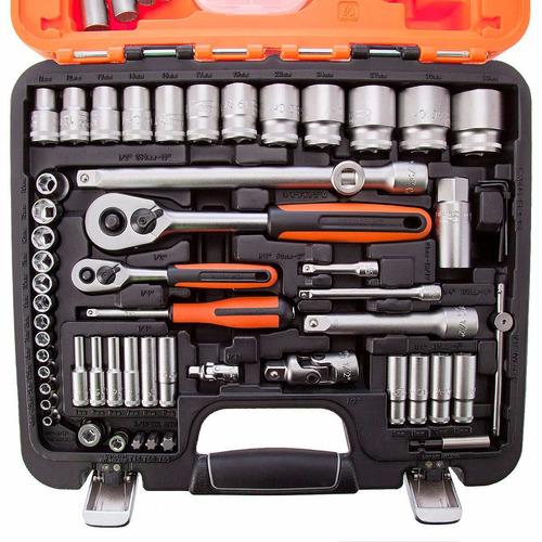 caja set herramientas llave tubo bahco original s910a cuotas