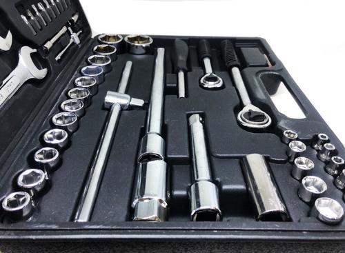 caja set juego de tubos herramientas 99 pcs 1/2-1/4 cv ofert