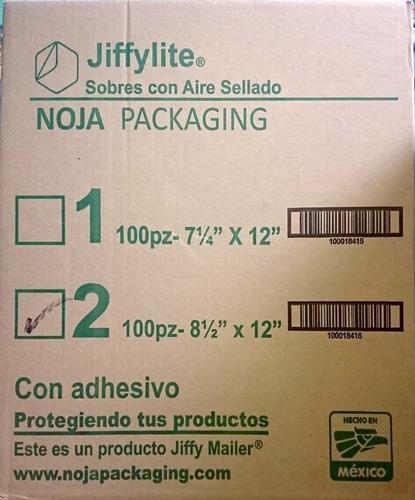 caja sobres burbuja jiffylite