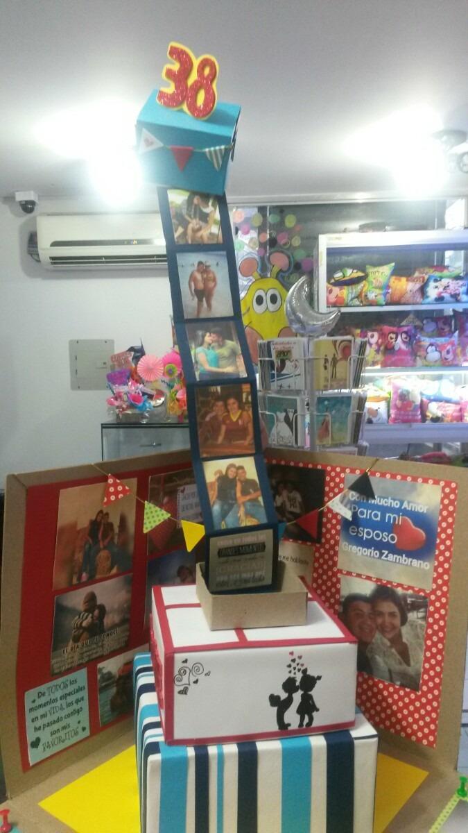 Caja Sorpresa Cumpleanos Amor Bs 52 000 00 En Mercado Libre