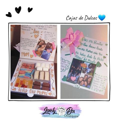 caja sorpresa de dulces