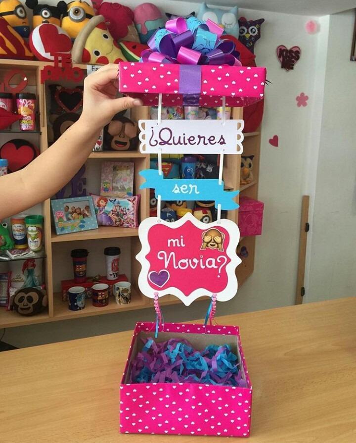 Caja sorpresa regalo dia de los enamorados novios bs 0 - Sorpresas para enamorados ...