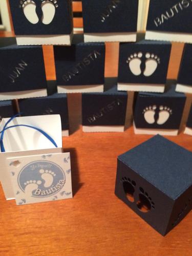 caja souvenirs baby shower nacimiento bautismo 15 años