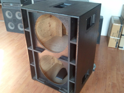caja sub 218 (jbl - rcf - ev - selenium - das)