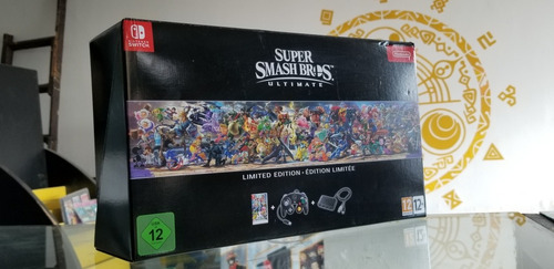 caja super smash bros ultimate limited