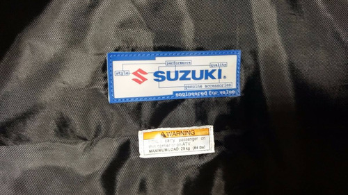 caja suzuki original cuatrimoto ¡gratis shock covers!
