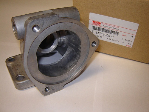 caja termostato isuzu 4ba1 2.8 (4 agujeros)