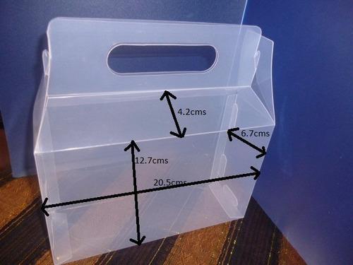 caja tipo lonchera de plástico