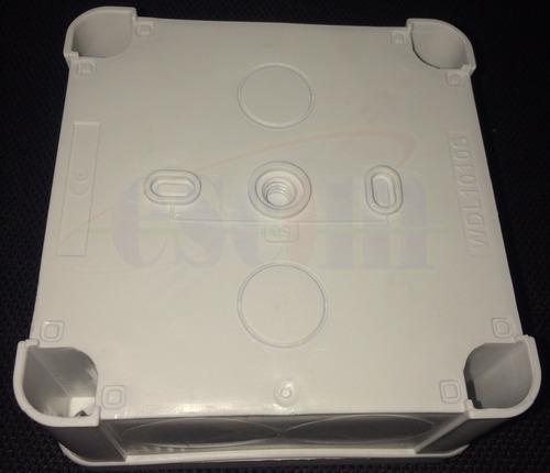 caja tipo nema gabinete 10x10x5.5 cm ip65 cctv