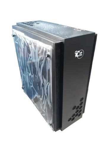caja torre pc micro atx gaming modelos n52b-w negra y blanca
