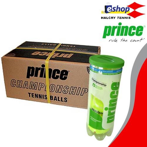 caja tubo de pelotas prince championship reg/extra duty x24
