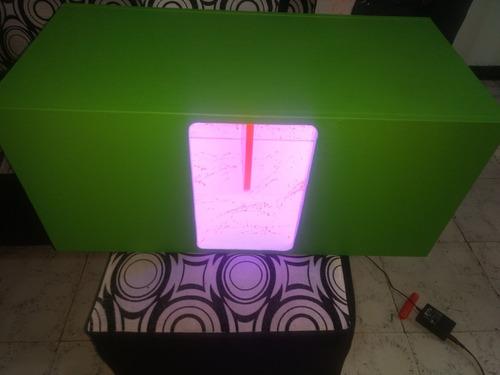 caja turbo nueva con luces led