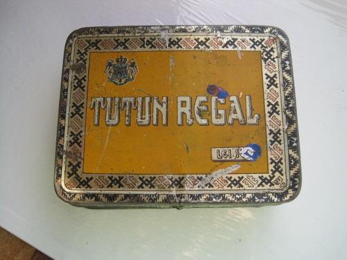 caja tutun regal