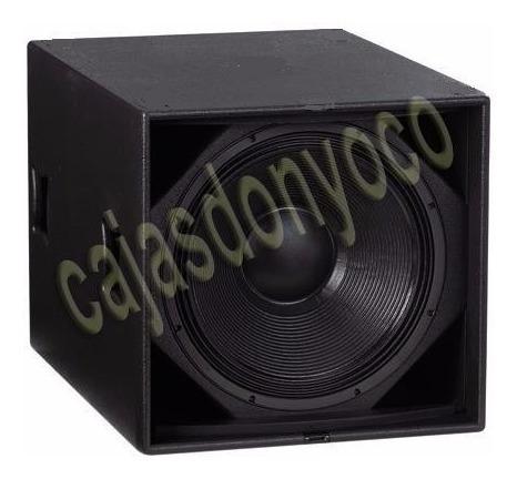 caja vacia para bafles parlante eighteen sound 18lw2400