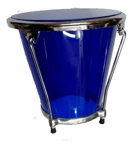 caja vallenata acrilico azul alta resistencia  forro  lona