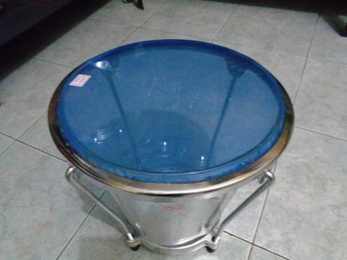 caja vallenata en acrilico transparente