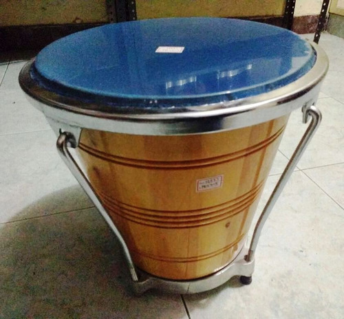 caja vallenata en madera natural