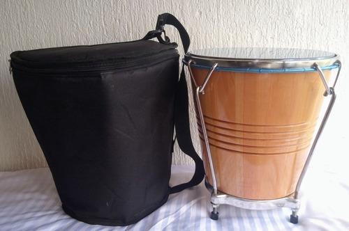 caja vallenata madera+ forro+ envió gratis