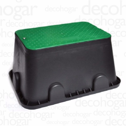 caja valvulas de riego hunter rainbird rect jumbo 50x64x30