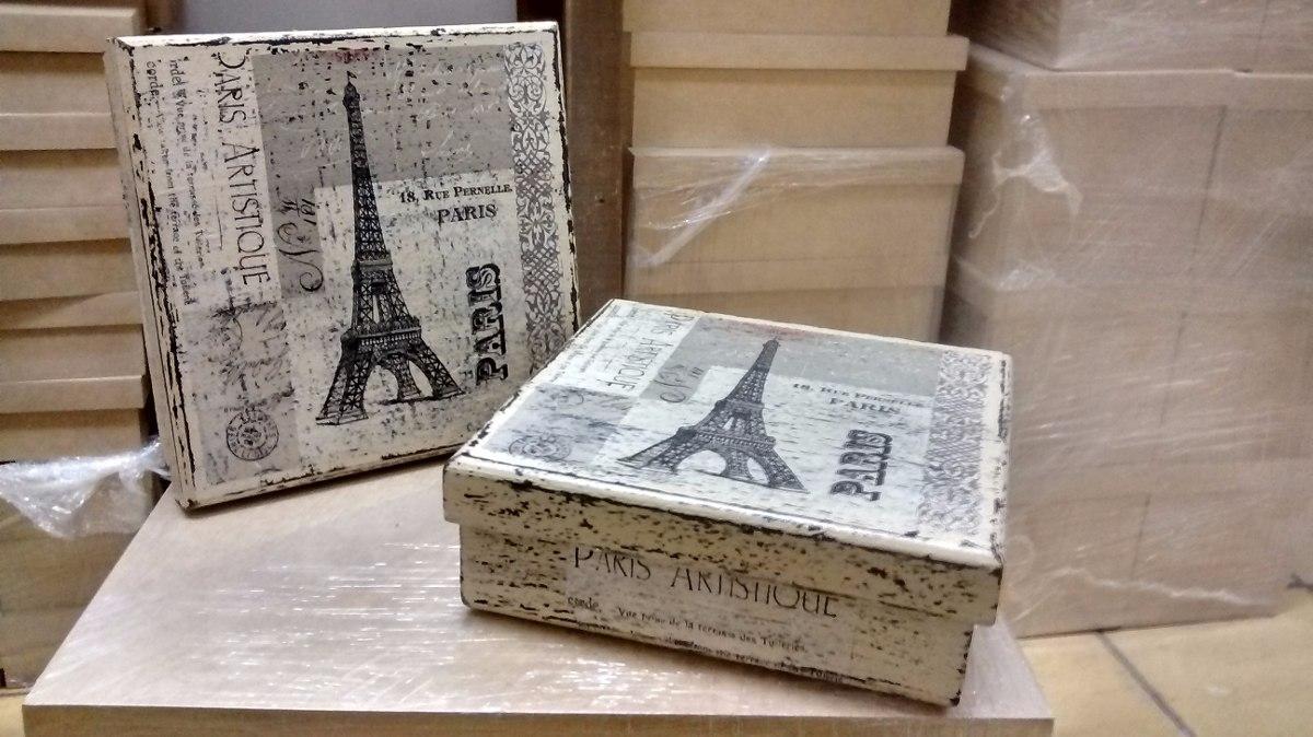 Caja vintage decoracion decoupage con servilleta 185 - Decorar cajas de madera con servilletas ...