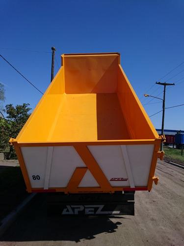 caja volcadora 17m3 para balancín vuelco trasero