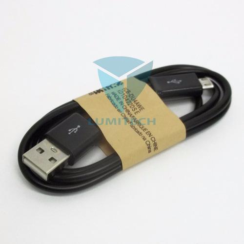 caja x 50 unidades cable de datos v8 600ma para celular