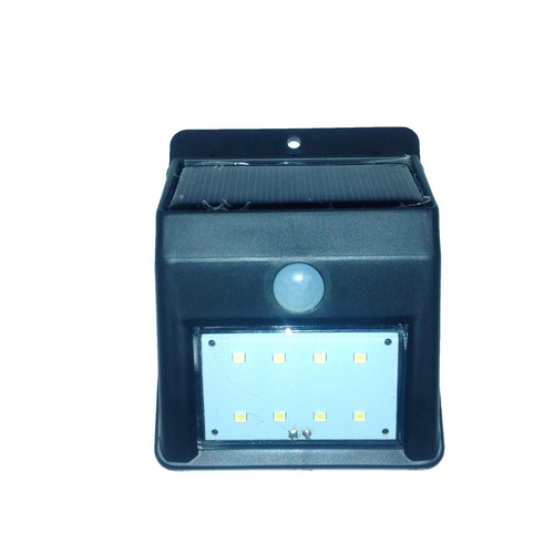 caja x 6 reflector solar led c/ sensor movimiento p/exterior