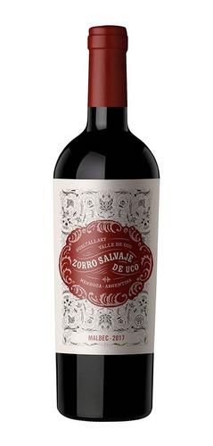 caja x 6 vinos - zorro salvaje - malbec - valle de uco