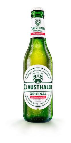 caja x6 cerveza clausthaler porron 330 ml sin alcohol