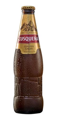 caja x6 cerveza cusqueña porron 330 ml